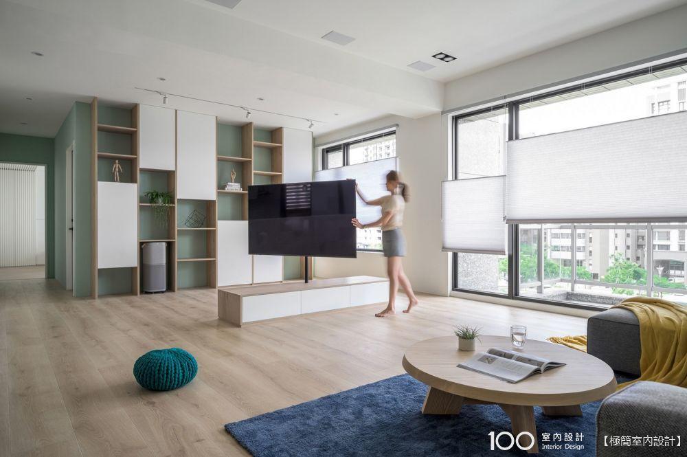 用旋轉電視架解放你家坪效!類型、安裝重點全公開