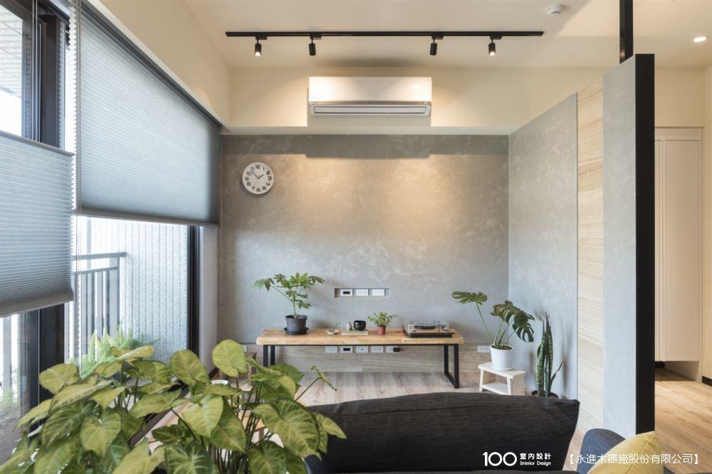 全系統櫃打造小宅!25坪簡約新成屋「輕裝潢」體驗