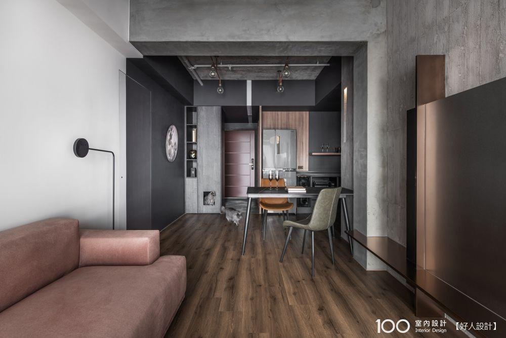 找房三年買房三天,進度超展開!19坪蝸居也能打造超有感工業風