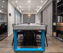 藍釉流淌 - 現代風 - 21-35坪