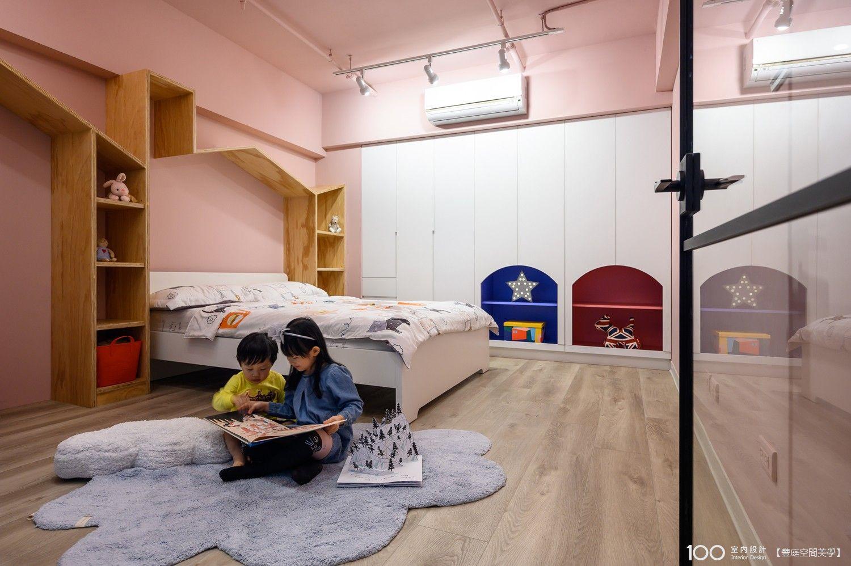 工業風兒童房