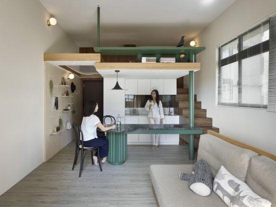 信義L宅 - 現代風 - 10-20坪
