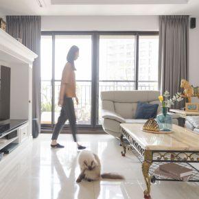 白色優雅新古典宅 古典風 新成屋