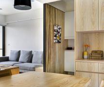 木質溫馨宅 - 北歐風 - 21-35坪