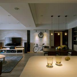 演繹極致溫馨的60坪時尚現代宅