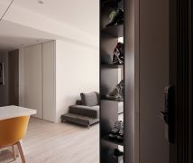 台中K宅 Taichung Ke Residence - 現代風 - 51-80坪