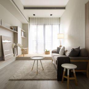 輕暖無印宅好紓壓!陽光臥榻、隱形收納實踐日系生活美學 日式風 新成屋
