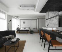 簡約C宅 - 現代風 - 21-35坪