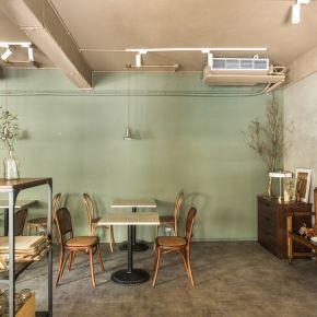 小米酒咖啡 混搭風 老屋翻新