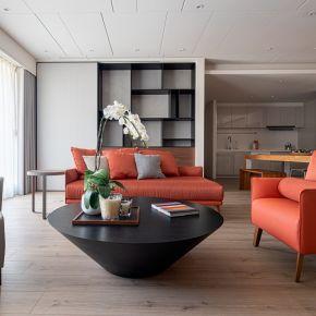 家的色調 現代風 新成屋