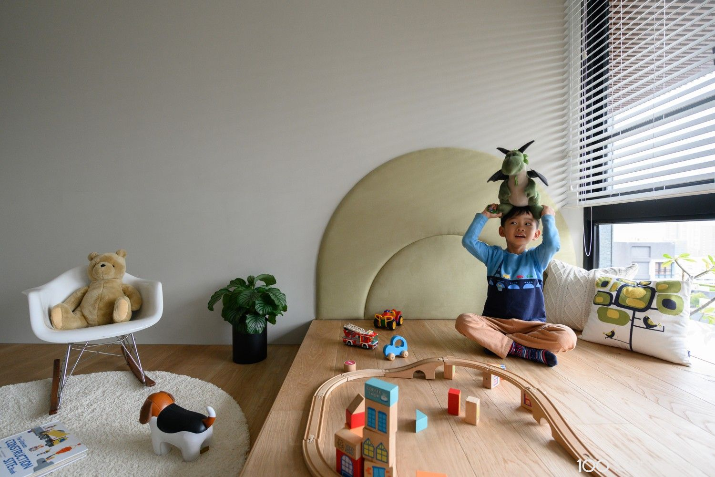 現代風兒童房