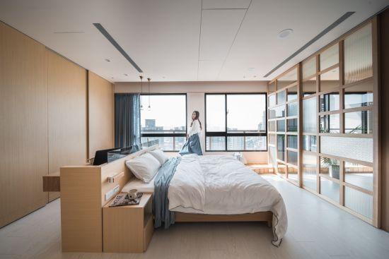 沐浴。光彩木寓 - 日式風 - 21-35坪