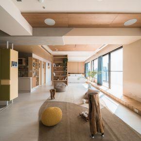 沐浴。光彩木寓 日式風 新成屋