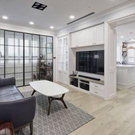 優雅流淌英式新古典格調!24 坪中古宅蛻變質感精緻美寓