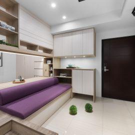 9.5 坪的現代風單身女子公寓