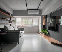 台北 H HOUSE - 工業風 - 10-20坪