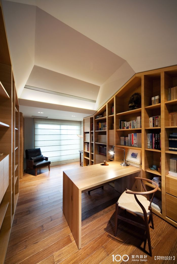 日式風書房