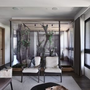 都市叢林中的世外桃源 現代風 新成屋