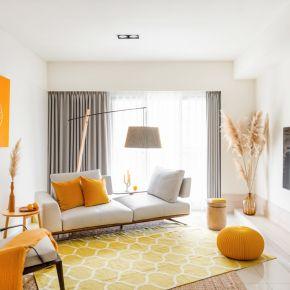 黃橙橙 現代風 新成屋