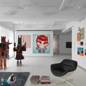 當代藝術宅 現代風 新成屋