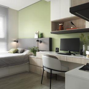 簡約沐光宅 暖色調營造家的恬靜溫度 現代風 新成屋