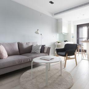 簡約北歐風!舒服自在的居住空間 北歐風 新成屋