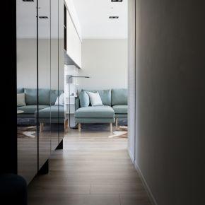30坪的極簡輕奢都會風 現代風 新成屋