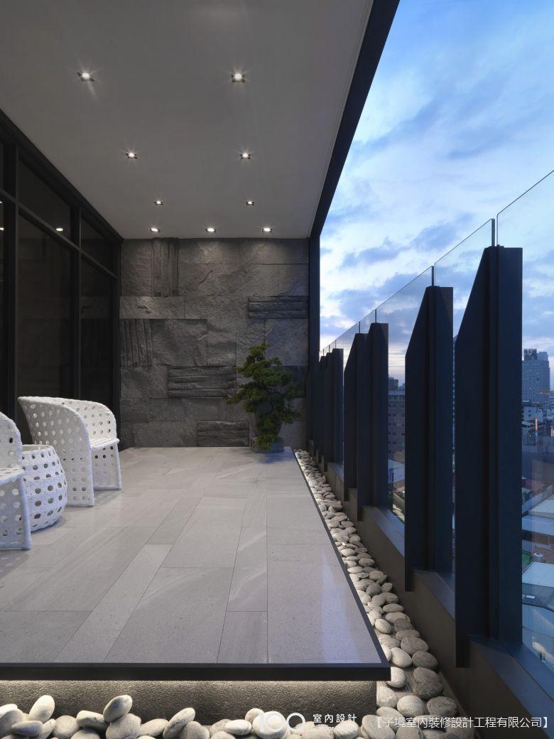 現代風陽台