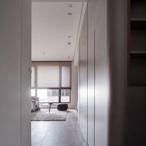 細膩堆疊的設計,譜成一家子的暖色系 北歐風 新成屋