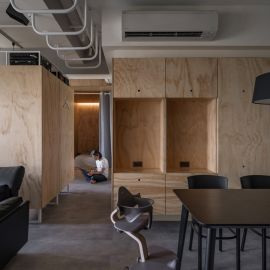 合伴 plywood house