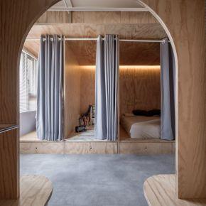 合伴 plywood house 混搭風 新成屋