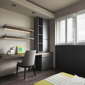 現代簡約設計語彙 圍塑療癒舒壓境域 現代風 新成屋