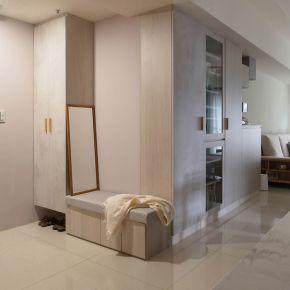 披上新衣 日式風 簡約風28坪 三房兩廳 日式風 新成屋