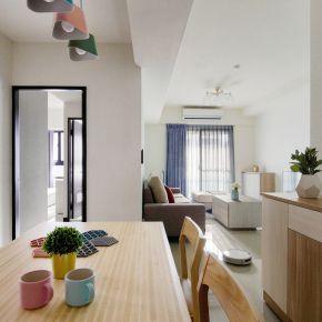 北歐風 繽紛妝點愛的四次方 26坪 三房兩廳 北歐風 新成屋