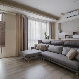 春暉謐境 現代風 簡約風混搭透天宅 36坪 三房兩廳