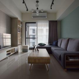 輕日式工業風 絕響混搭 27坪 三房兩廳