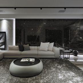 頂層奢華 Penthouse 現代風 新成屋