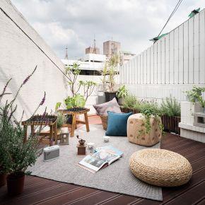 有一種家叫做雷門與百勒絲| Homellery Home+Gallery 3F 混搭風 老屋翻新