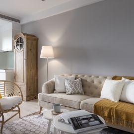 收納與風格兼具的簡約美式宅