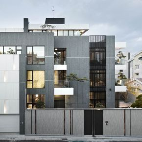垂直森林 現代風 新成屋