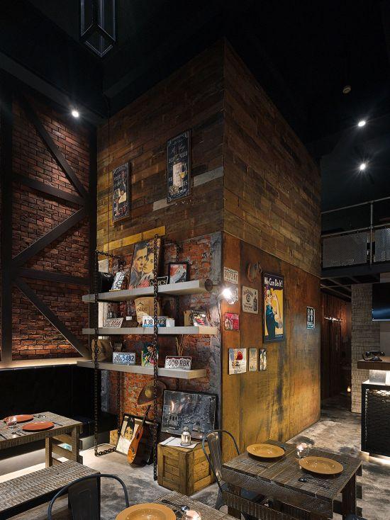 美墨餐廳 - 工業風 - 21-35坪