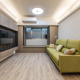 強化收納!活用木質系統櫃,打造北歐機能宅