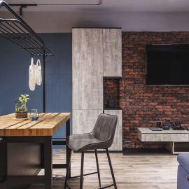 12 坪工業風小宅!系統傢俱建構空少的理想歸屬