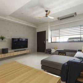 黑白簡約的溫暖夢想屋