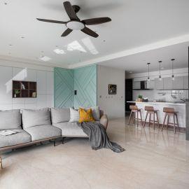 以光編織復古日常!系統傢俱捏塑 50 坪木質親子宅