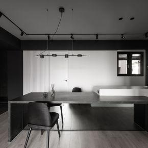 非黑即白 現代風 新成屋