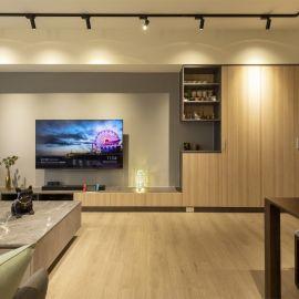 工業簡約酒吧宅 工業風 北歐舒適 26.5坪 三房兩廳