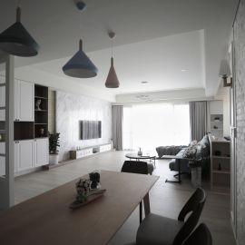 揉以休閒、舒放北歐風 構築出輕甜輕新宅