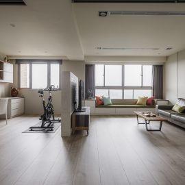 告別老屋陳舊樣貌 日系風+系統家具規劃打造簡約明亮美宅