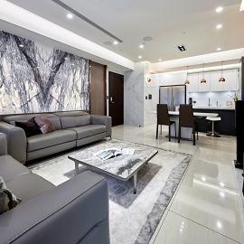 遇見理想生活風景,坐擁 30 坪奢雅現代品味宅